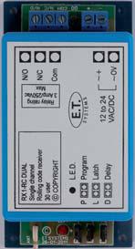 Et Rx1 Rc Dual Single Channel Receiver Rsec
