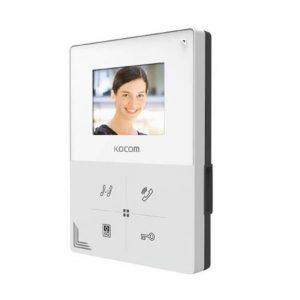 kocom kcv a374 video door intercom 7 monitor station. Black Bedroom Furniture Sets. Home Design Ideas