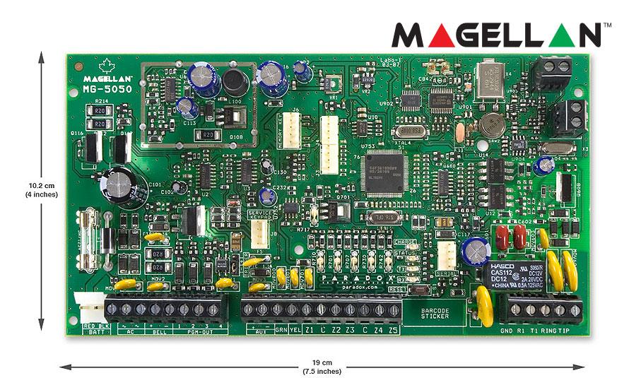 Pa3825 Paradox Mg5050 Wireless Panel  U2013 Rsec