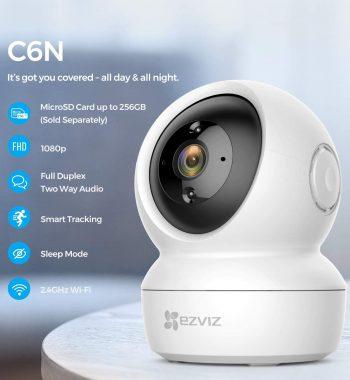 EZVIZ C6N 1080p Full HD Pan Tilt WiFi IP Camera 2